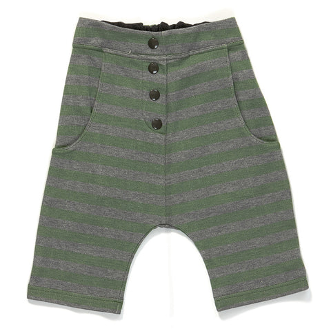 AlbaBaby Pants Gustav - Knickers Green Striped