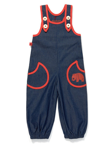 AlbaBaby Gy Baggy Crawlers Denim