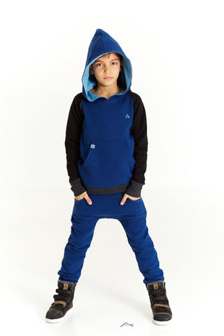 AlbaBabY Hjalte Hood - Estate Blue