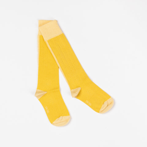 AlbaBaby Kneesocks Bea Bamboo Yellow
