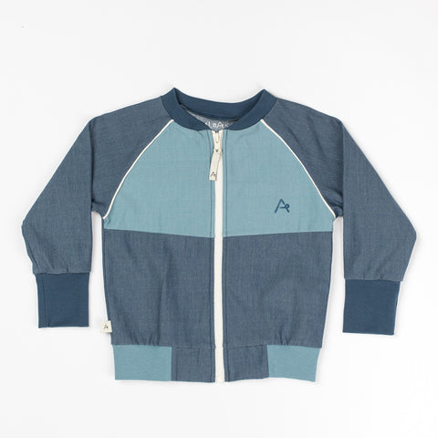 AlbaBaby Cardigan Hape Dark Denim