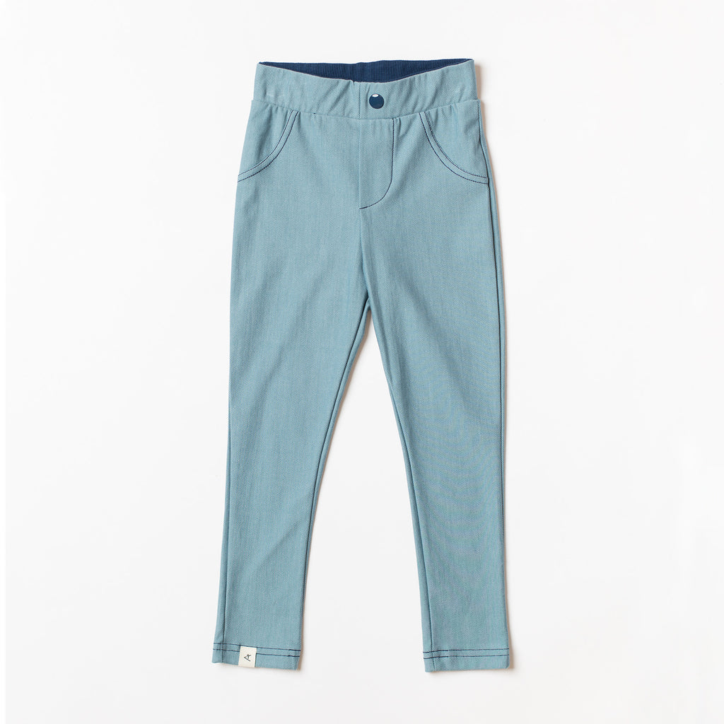 AlbaBaby Pants Slim Fit Innes Bluestone