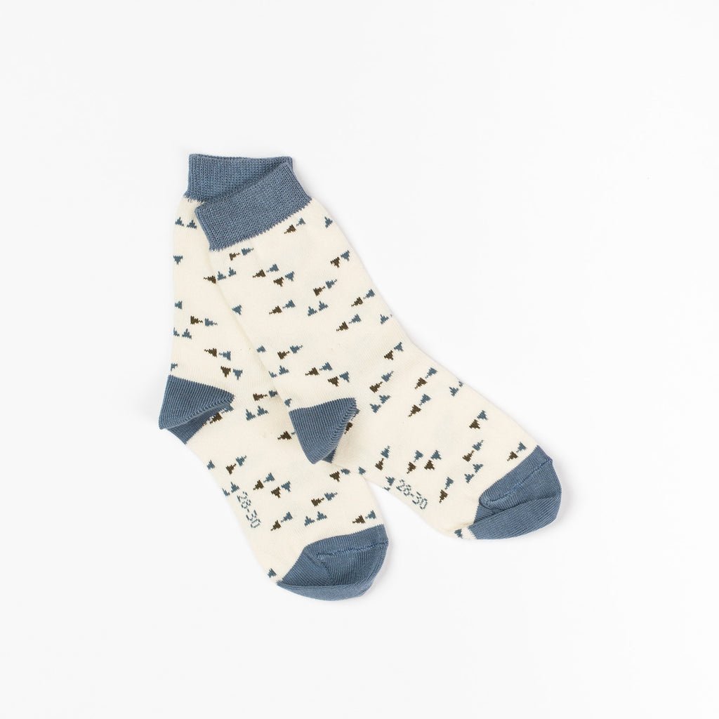AlbaBaby Socks Kristian Antuque White Triangle