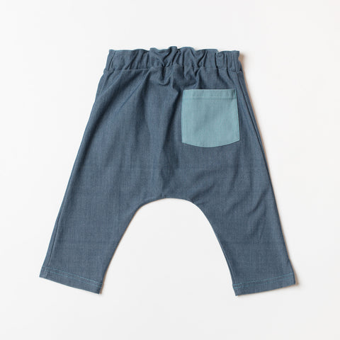 AlbaBaby Pants Baby Lucca Dark Denim