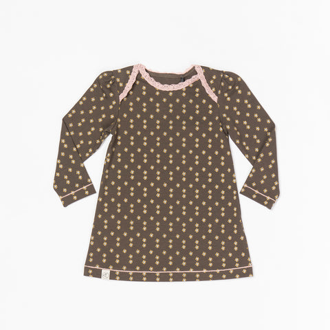 AlbaBabY - Gemma Baby Dress Wren Small Flower