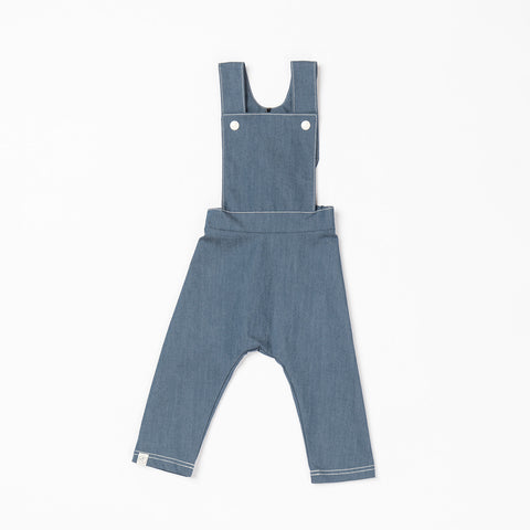 AlbaBabY - Kim Baggy Crawlers Dark Denim