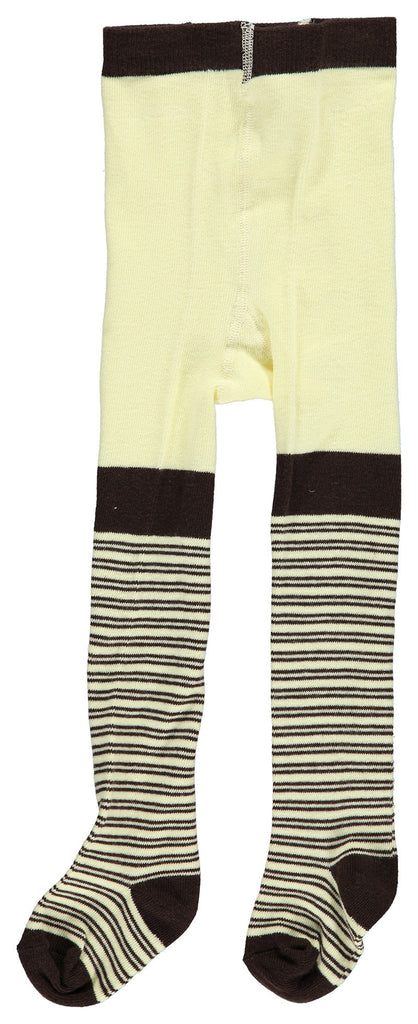 AlbaBaby - Tights Bullu Brown Creme Striped