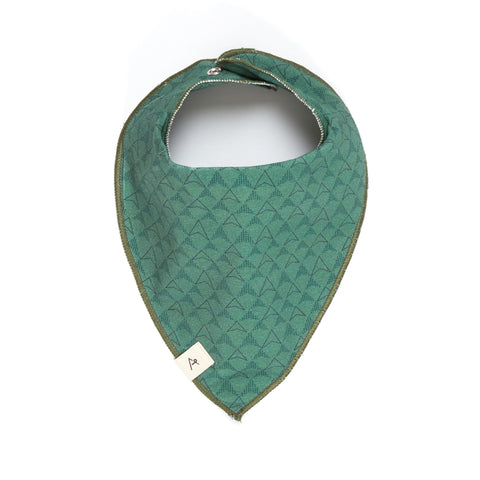AlbaBabY Hang Bib - Duck Green Boomerang
