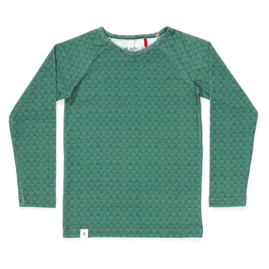 AlbaBabY Hannibal Blouse - Duck Green Boomerang