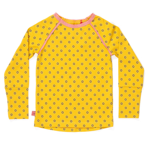 AlbaBabY Helia Blouse - Lemon Curry Flower