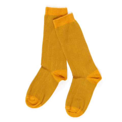 AlbaBabY Herle Knee Socks - Lemon Curry