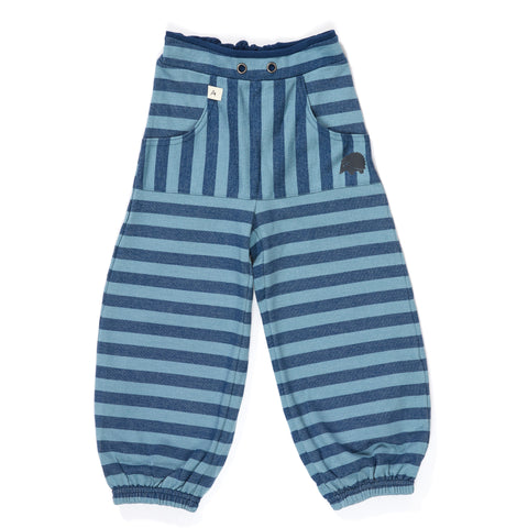 AlbaBabY Hillan Baggy Pants - Estate Blue Striped