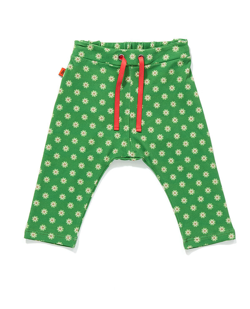 AlbaBaby Pants BABY Fewis Green Flower