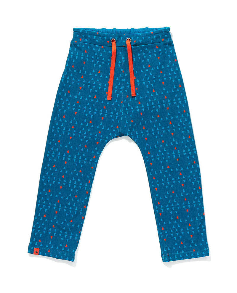 AlbaBaby Pants Finn Blue Triangle