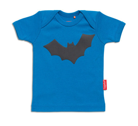 Tapete T-Shirt BABY Speedy Bat Blauw