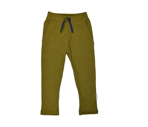 Baba Babywear BaggyPants V-Knitted Yellow Geel