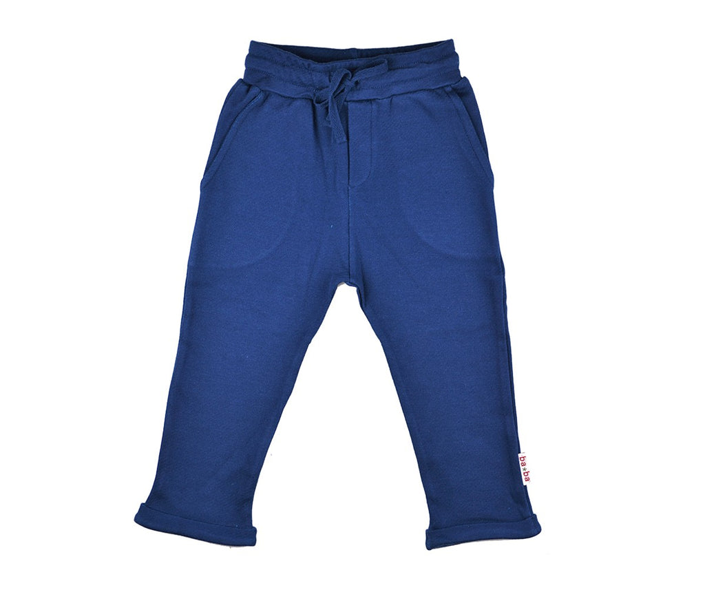 Baba Babywear - Baggy Pants Double Knitted Blue