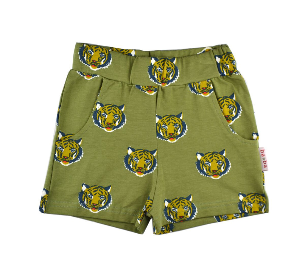 Baba Babywear - Girl Short Tigers