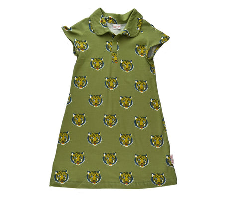Baba Babywear - Raglan Dress Tiger
