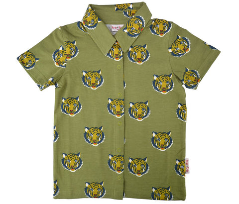 Baba Babywear - Short Sleeve Shirt Tigers