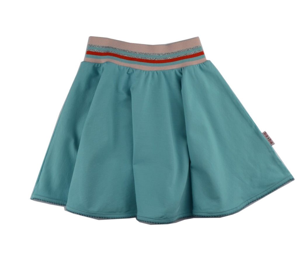 Baba Babywear - Skirt Light Blue - Licht Blauw Zwierrokje