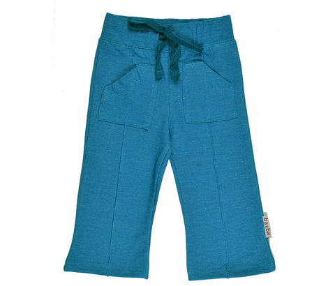 Baba Babywear - Pocketpants Mykonos Blue