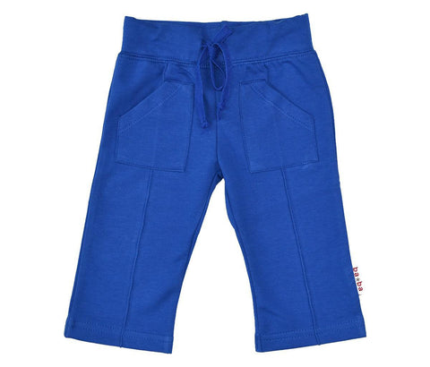 Baba Babywear - Pocketpants Cobalt Blue