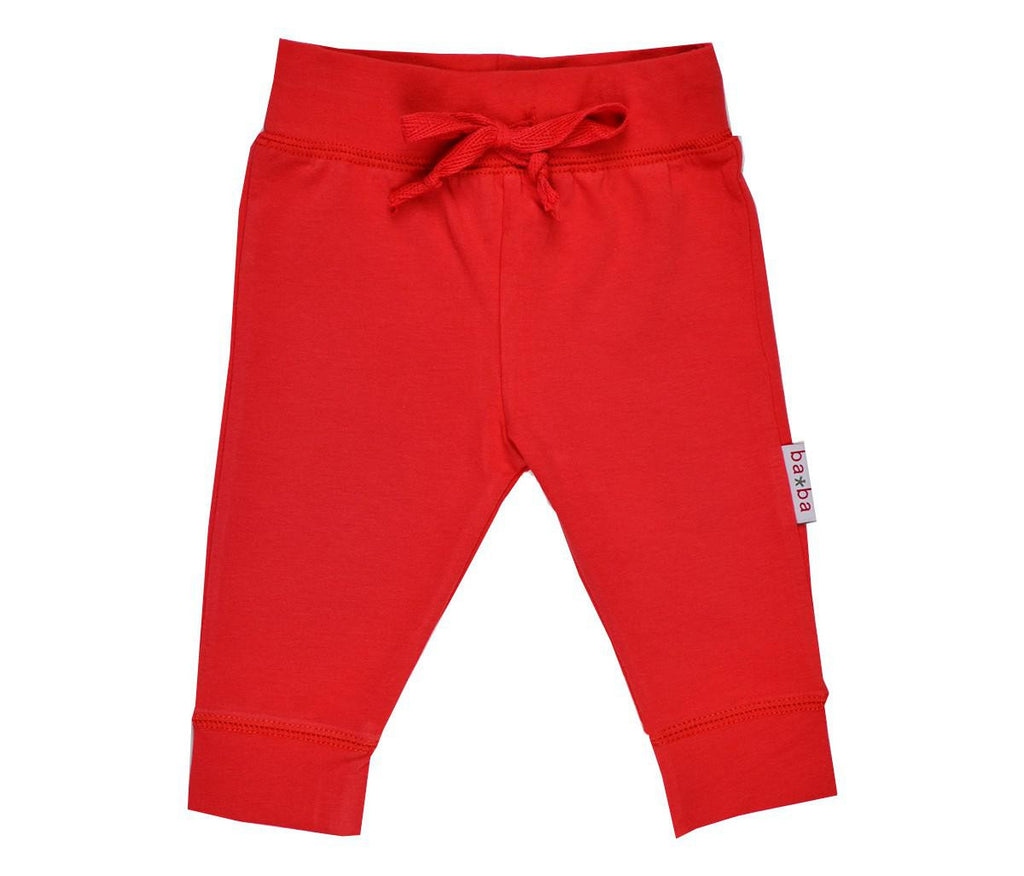 Baba Babywear - BABY Pants Red