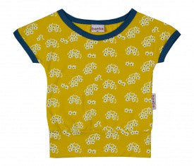 Baba Babywear - T-Shirt Yellow Flower