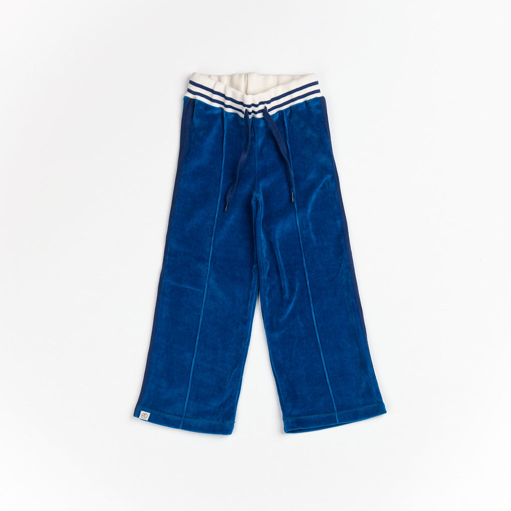 Alba of Denmark - Boxpants Mykonos Blue Velours