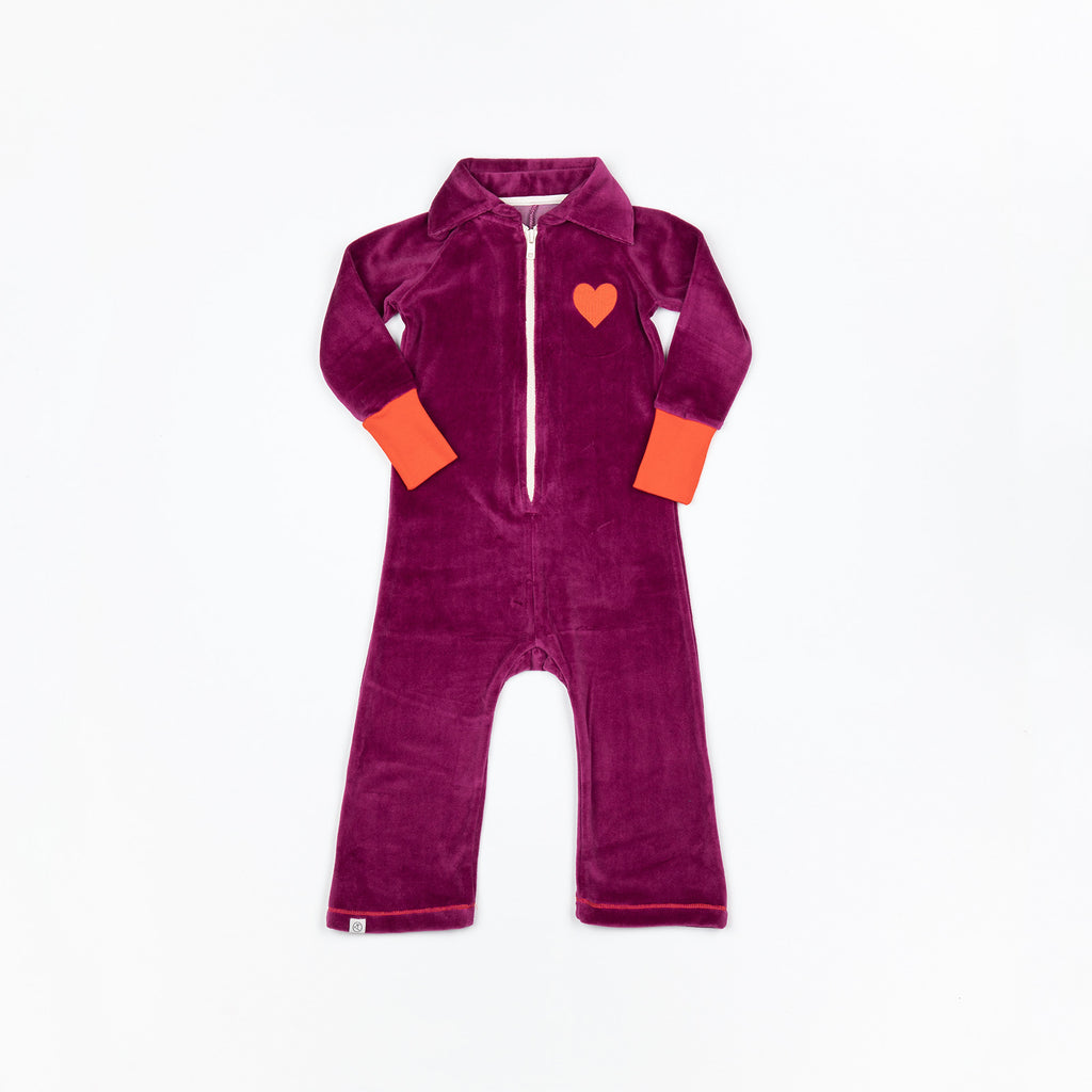 Alba of Denmark - Lemar Flipsuit Boysenberry Velours