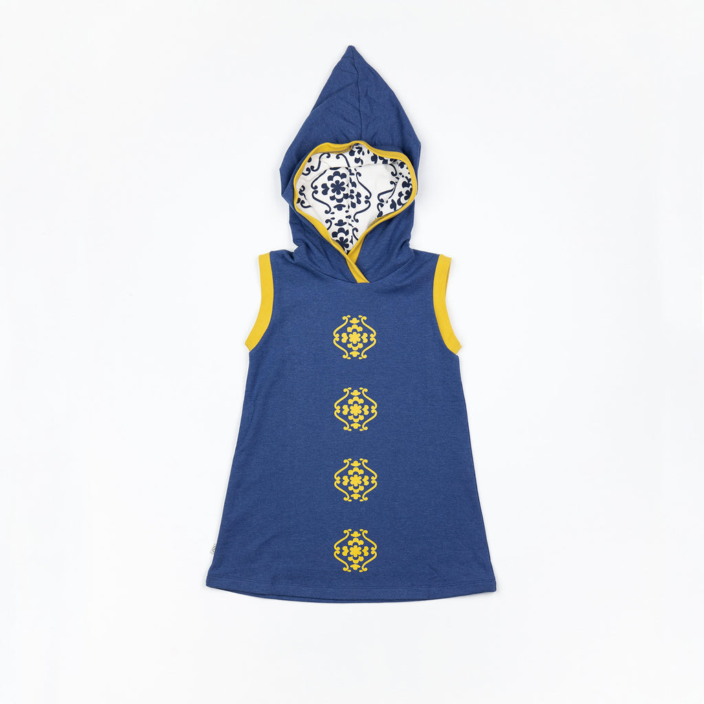 Alba of Denmark - Trine Hood Dress Blueprint