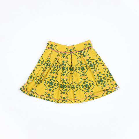Alba of Denmark - Nelly Skirt Ceylon Yellow Nostalgic Tiles