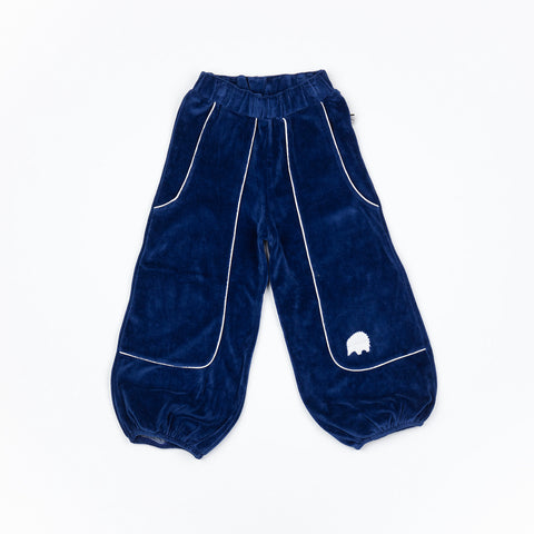 Alba of Denmark - Hobo Baggy Pants Blueprint Velours
