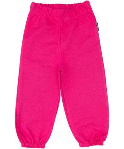 Maxomorra Pants Baby Sweat Pink Roze