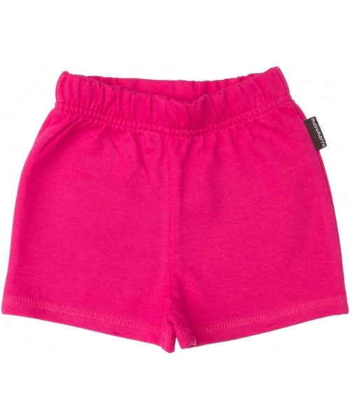 Maxomorra Pants Baby Shorts Pink
