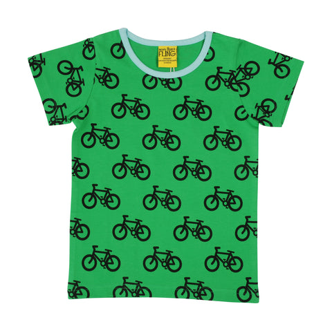 More Than A Fling - T-Shirt Bike Green