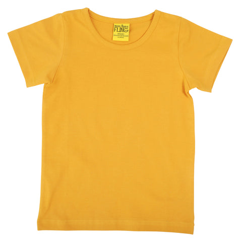 More Than A Fling ADULT - T-Shirt Sunflower Yellow