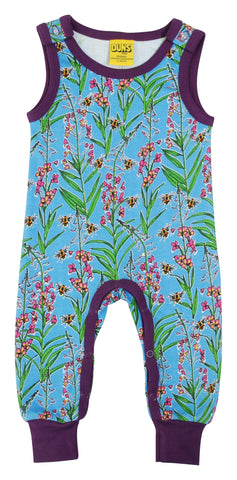 Duns Sweden - Playsuit Willowherb Blue - Mouwloos Pak Wilgenroosje