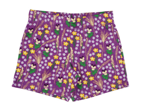 Duns Sweden - Shorts Meadow Purple - Korte Broek Bloemenweide Paars