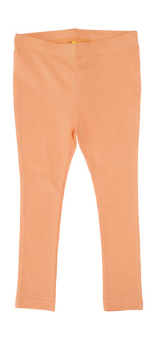 More Than A Fling Legging Cantaloup - Zacht Oranje Gele Legging