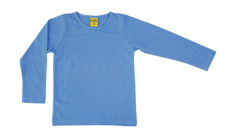 More Than A Fling Longsleeve Cornflower - Lange Mouw Korenbloem Blauw