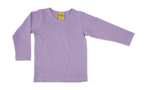 More Than A Fling Longsleeve Medium Violet - Lange Mouw Violet