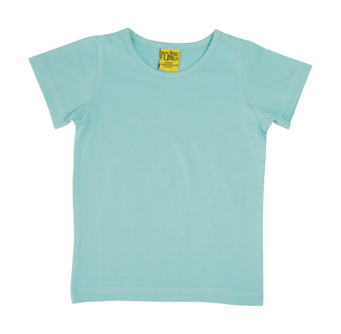 More Than A Fling T-Shirt Eggshell Blue - Zacht Blauw T-shirt