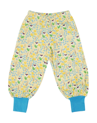 Duns Sweden - Baggy Pants Meadow Yellow - Lange Pof Broek Bloemenweide Geel