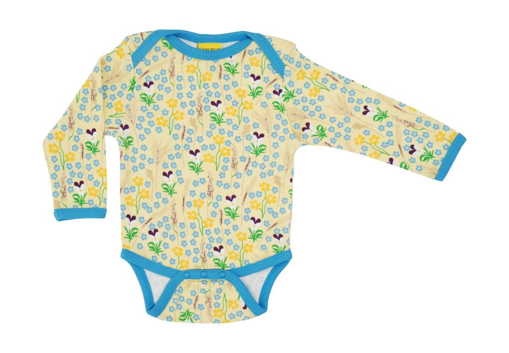 Duns Sweden - Body Meadow Yellow - Romper Bloemenweide Geel