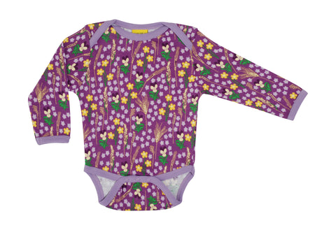 Duns Sweden - Body Meadow Purple - Romper Bloemenweide Paars