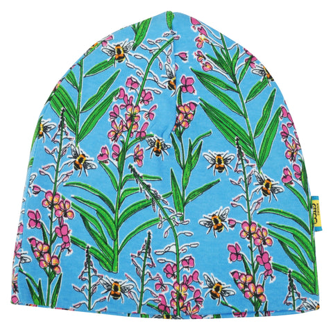 Duns Sweden - Beanie Dubbellaags Muts Willowherb Blue Wilgenroosje