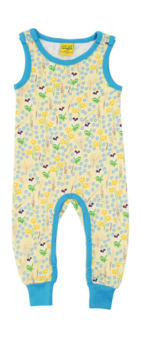 Duns Sweden - Playsuit Meadow Yellow - Mouwloos Pak Bloemenweide Geel