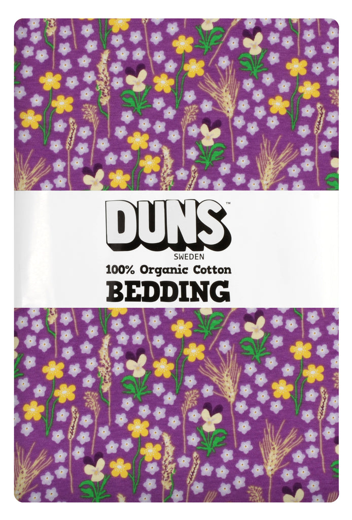 Duns Sweden Bedding Meadow Purple - Dekbedovertrek Bloemenweide Paars
